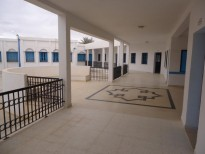 Vocational training centers Restructuring work and Extension of the Training Centre and Learning to Meknassy