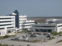 مباني خدمات  المقر الإجتماعي لمركز الدراسات و البحوث للإتصالات