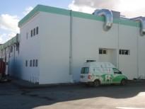 Bâtiments industriels Extension de l'Usine de la Centrale Laitière de Mahdia