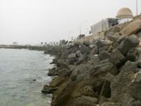 Travaux maritimes Protection Littural Mahdia