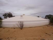 Water tank Construction of a tank of 2500 m3 SONEDE Bir Ali Ben Khalifa