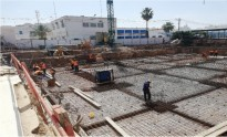 Chantiers en cours   TRAVAUX DE CONSTRUCTION DU SIEGE DE LA DIRECTION REGIONALE DE LA STEG A SFAX