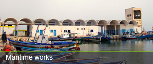 Maritime works